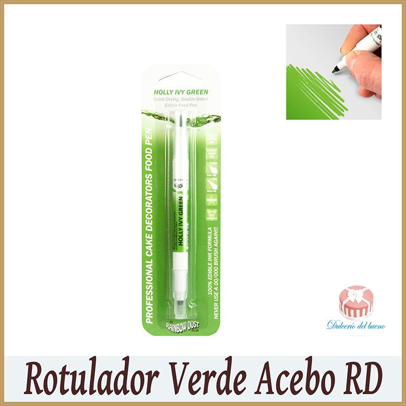 Rotulador Comestible Verde Acebo