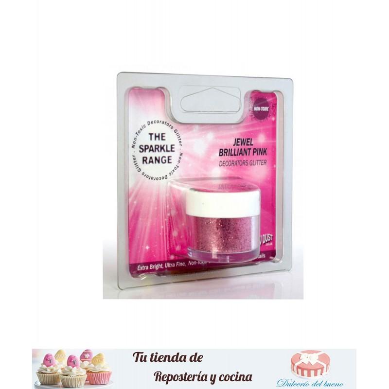 Sparkles Hologram de color rosa brillante