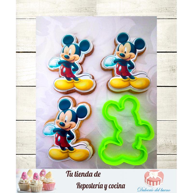 Mickey Mouse|  Cortador para galletas y Fondant