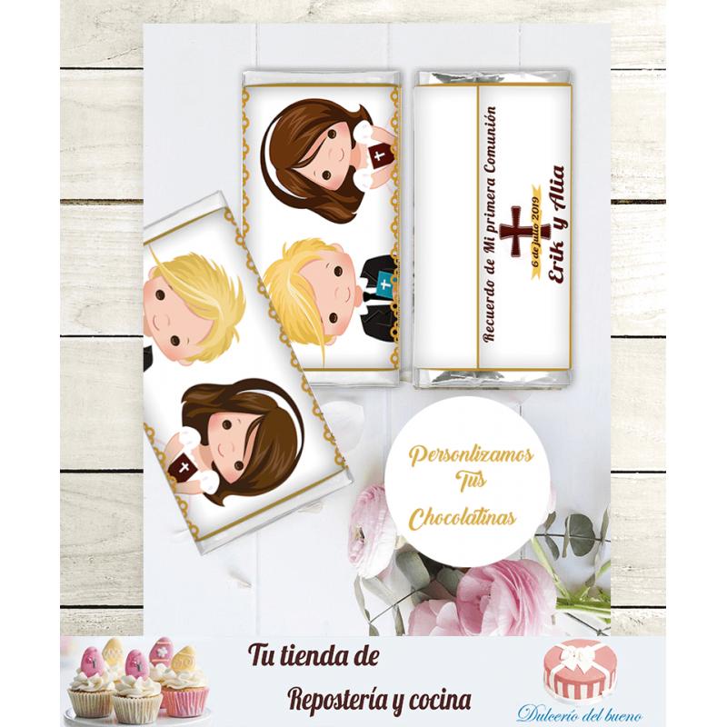 Chocolatinas Nestlé Comunión  |Personalizdas