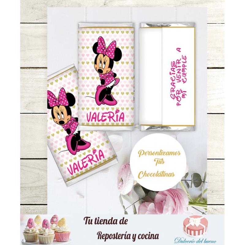 Chocolatinas Nestlé cumpleaños Personalizdas Valeria