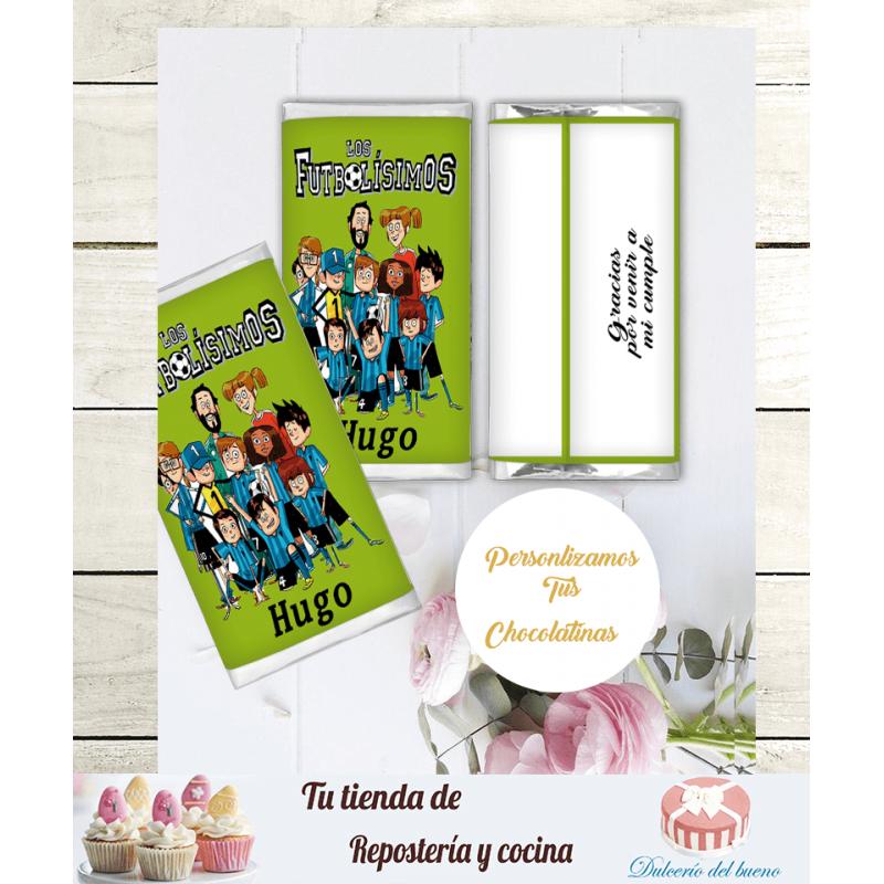 Chocolatinas Nestlé Personalizdas Los Futbolísimos