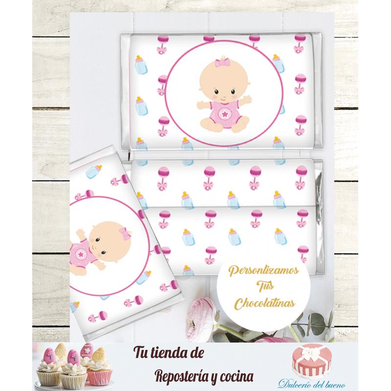 Chocolatinas Nestlé Personalizdas Bautizo  Daniela