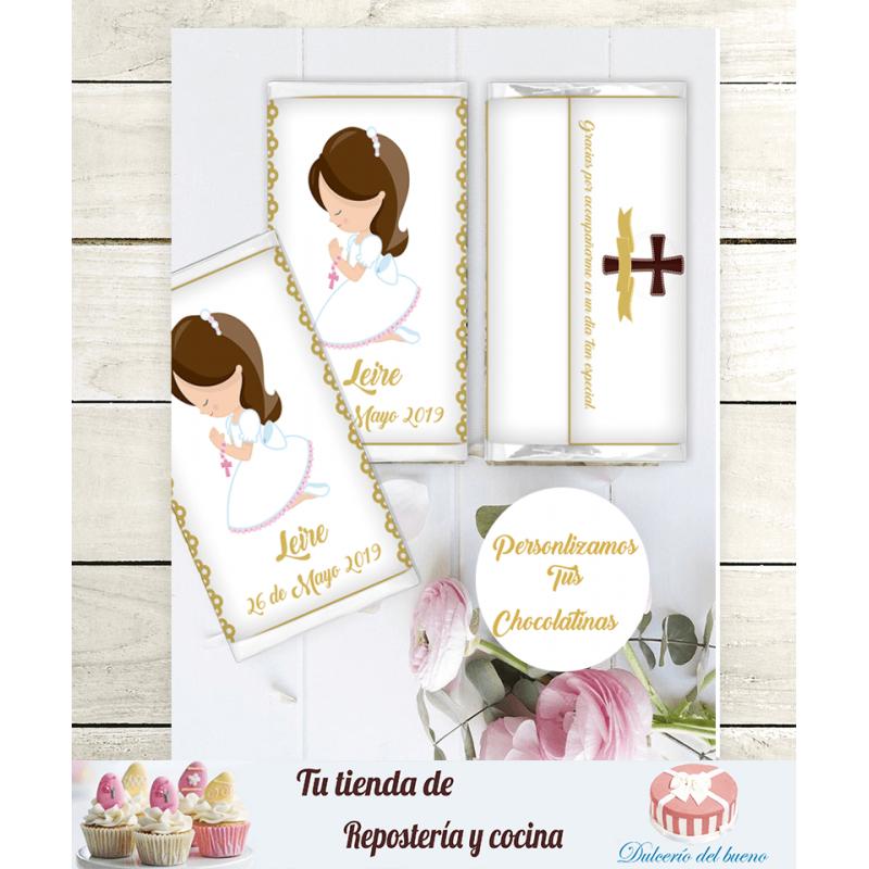 Chocolatinas Nestlé Comunión Personalizdas (Leire)