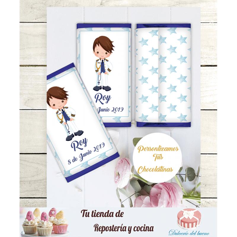 Chocolatinas Nestlé Personalizdas Crunch  Roy