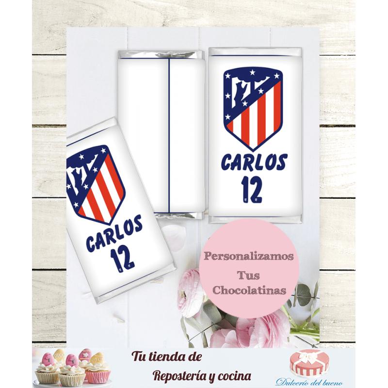 Chocolatinas Nestlé Personalizadas  Atlético Madrid