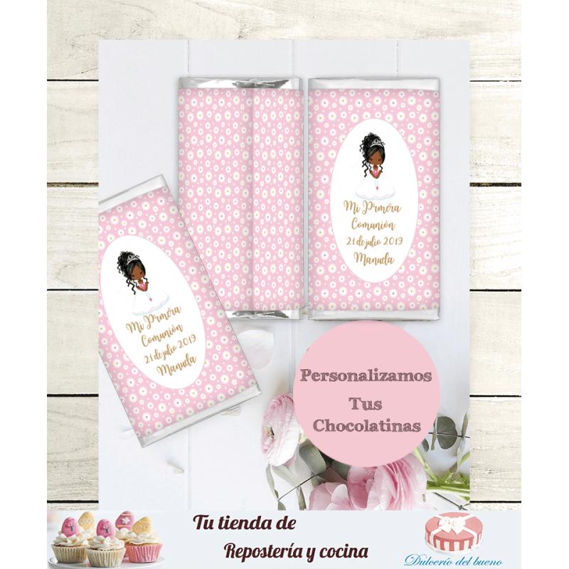 Chocolatinas Nestlé Comunión Personalizda (Manuela)s