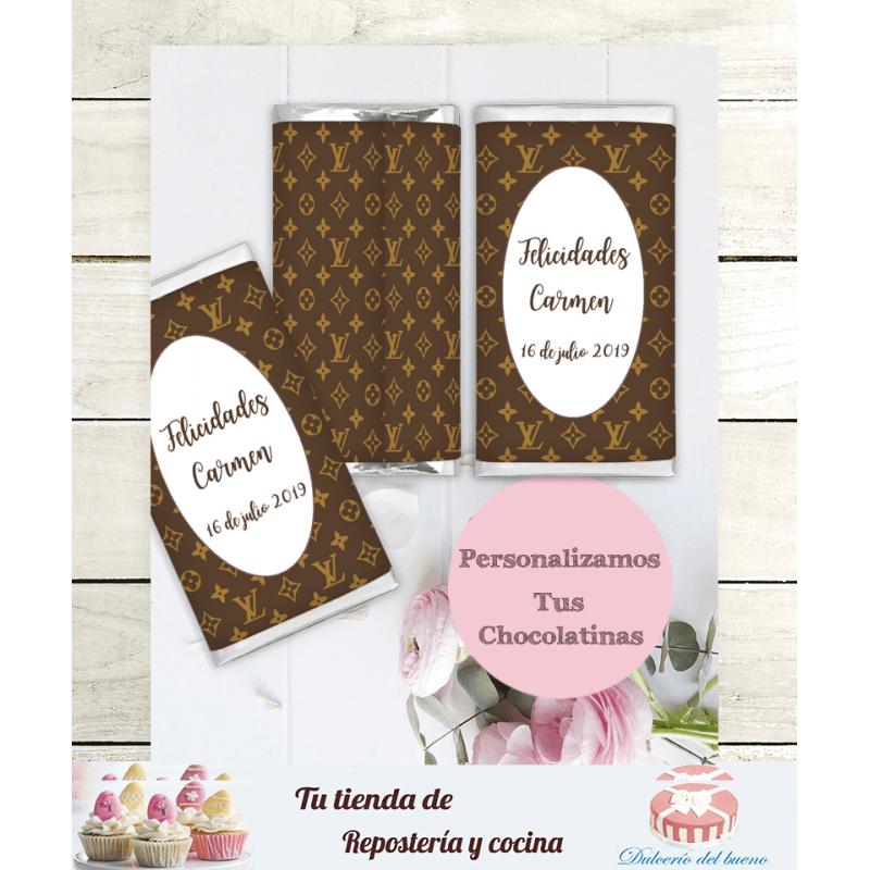 Chocolatinas Nestlé Personalizadas Louis Vuitton